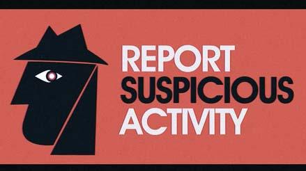 Report Suspicious Car Parked